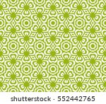 decorative floral seamless... | Shutterstock .eps vector #552442765