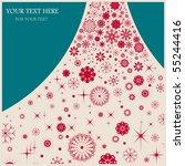 snowflake | Shutterstock .eps vector #55244416