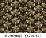 vector illustration of golden... | Shutterstock .eps vector #552457534