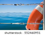 Orange Safety Flotation Device...