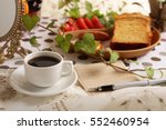 coffee time | Shutterstock . vector #552460954