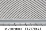 Dirty Old Metal Texture Roof O...