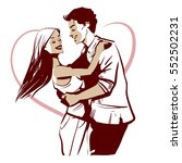 for valentines day  vacation... | Shutterstock .eps vector #552502231