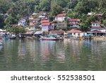 overlook of padang town in west ... | Shutterstock . vector #552538501