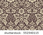 vector seamless floral pattern... | Shutterstock .eps vector #552540115