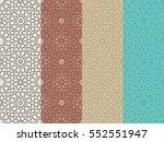 seamless islamic moroccan...   Shutterstock .eps vector #552551947