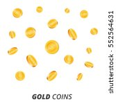 gold coins vector illustration. ...