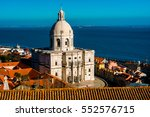 stunning view over the church... | Shutterstock . vector #552576715