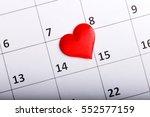 valentine's day february 14... | Shutterstock . vector #552577159