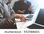 business team meeting. photo...   Shutterstock . vector #552588601