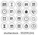 time icons  | Shutterstock .eps vector #552591241