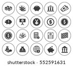 investment icons  | Shutterstock .eps vector #552591631