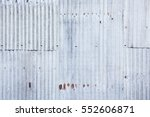 A Rusty Corrugated Iron Metal...