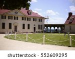 george washington's estate in... | Shutterstock . vector #552609295