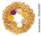 close up various medicine pill... | Shutterstock . vector #552623005