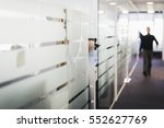 corporate office concept | Shutterstock . vector #552627769