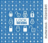 lock  security  protection ... | Shutterstock .eps vector #552641845