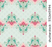 background. fantasy floral...   Shutterstock . vector #552645994