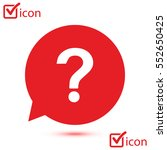 question mark sign icon. help... | Shutterstock .eps vector #552650425
