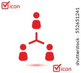 communication concept. social... | Shutterstock .eps vector #552651241