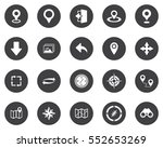 navigation icons | Shutterstock .eps vector #552653269