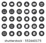 book icons | Shutterstock .eps vector #552660175