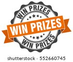 win prizes. stamp. sticker.... | Shutterstock .eps vector #552660745