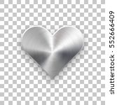 abstract heart sign badge ... | Shutterstock .eps vector #552666409