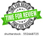 time for review. stamp. sticker.... | Shutterstock .eps vector #552668725