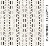 vector seamless pattern. modern ... | Shutterstock .eps vector #552669445
