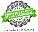 stock clearance. stamp. sticker.... | Shutterstock .eps vector #552672391