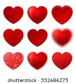 Set If Heart Icon Vector. Love...