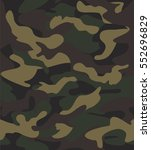 seamless camouflage pattern for ... | Shutterstock .eps vector #552696829