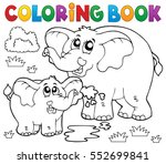 coloring book cheerful... | Shutterstock .eps vector #552699841