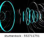 futuristic abstract background. ... | Shutterstock . vector #552711751
