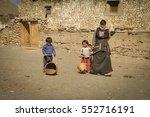 dolpo  nepal   circa june 2012  ... | Shutterstock . vector #552716191