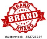 brand. stamp. sticker. seal.... | Shutterstock .eps vector #552728389