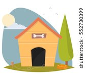 dog house | Shutterstock .eps vector #552730399