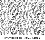 seamless pattern with hand... | Shutterstock .eps vector #552742861