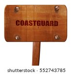 Coastguard  3d Rendering  Text...