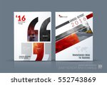 business vector. brochure... | Shutterstock .eps vector #552743869