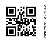 qr code with encoded word sale  ... | Shutterstock .eps vector #552748165