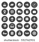 transport icons | Shutterstock .eps vector #552762931