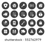 security icons | Shutterstock .eps vector #552762979