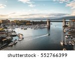 Stock photo photo of granville island in vancouver canada 552766399