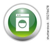 Glossy Washing Machine Sign...