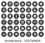 building icons | Shutterstock .eps vector #552769609