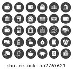 banking icons | Shutterstock .eps vector #552769621