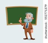 university professor standing...