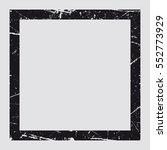 abstract grunge frame. black...   Shutterstock .eps vector #552773929